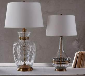 Pottery Barn Sabrina Table & Bedside Lamp Bases