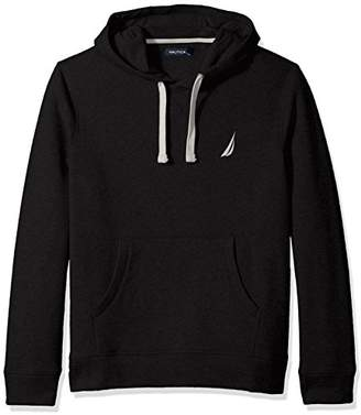 Nautica Men's Chest Logo Pullover Hoodie