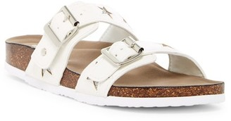 Madden Girl Brando U Dual Strap Slide Sandal $49 thestylecure.com