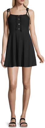 Speechless Sleeveless Maxi Dress-Juniors
