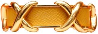 Hermes Vintage Yellow Metal Bracelets
