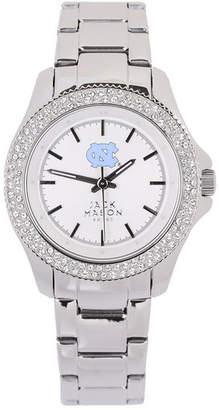 Jack Mason Women's North Carolina Tar Heels Glitz Sport Bracelet Watch