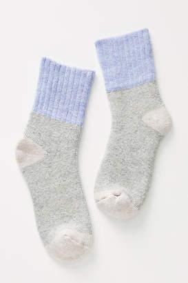 Lemon Serenity Crew Socks