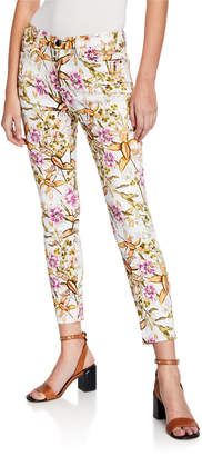 7 For All Mankind Jen7 By Ankle Skinny Cotton-Stretch Pants