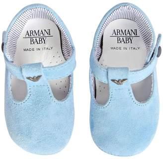 Armani Junior Suede Shoes