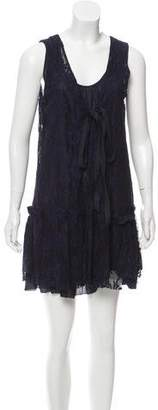 Marc by Marc Jacobs Sleeveless Lace Mini Dress