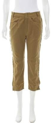 Isabel Marant Cropped Mid-Rise Pants