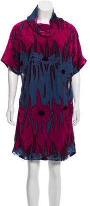Anna Sui Velvet Shift Dress w/ Tags