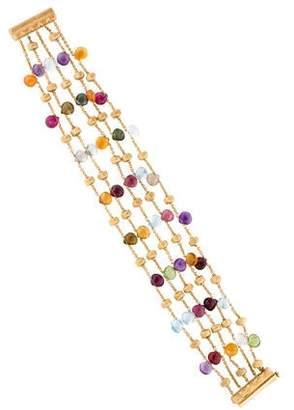Marco Bicego 18K Multistone Bead Bracelet