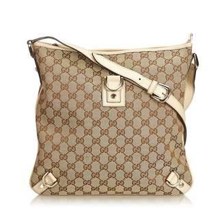 Gucci Vintage Guccissima Abbey Crossbody Bag