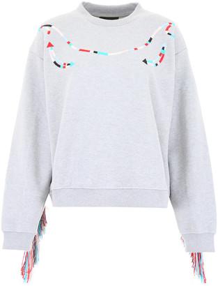 Alanui Fringed Sweatshirt