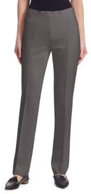 Akris Punto Stretch Straight-Leg Pants