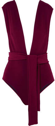 Haight - Maillot Plunge Swimsuit - Claret