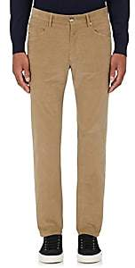 Incotex MEN'S M-BODY MODERN-FIT CORDUROY TROUSERS