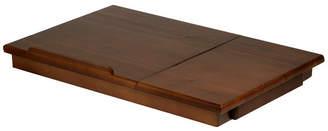 Alden Winsome Lap Desk, Flip Top with Drawer, Foldable Legs