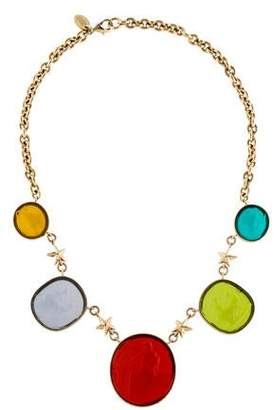 RED Valentino Glass Collar Necklace