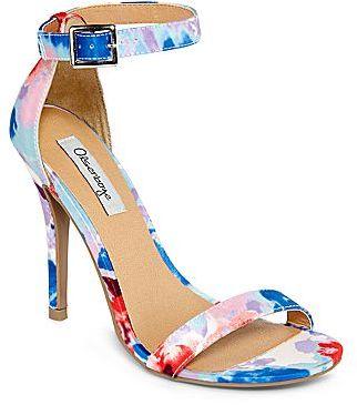 JCPenney Olsenboye® Rumer Patent Ankle-Strap Heels