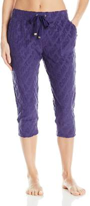 Juicy Couture Label Women's Crop Jogger