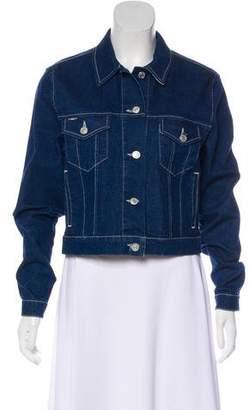 Burberry Nova Check Denim Jacket