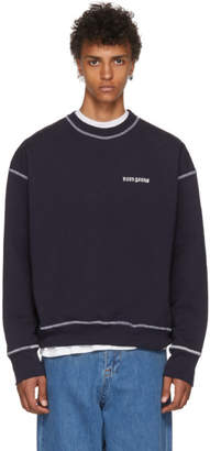 Noon Goons SSENSE Exclusive Navy Icon Sweatshirt