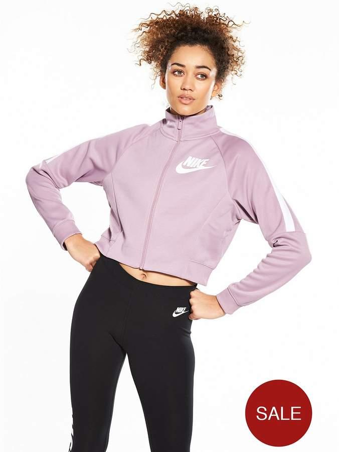 Sportswear Polyknit Cropped Track Jacket