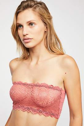 Intimately Seamless and Lace Reversible Bandeau