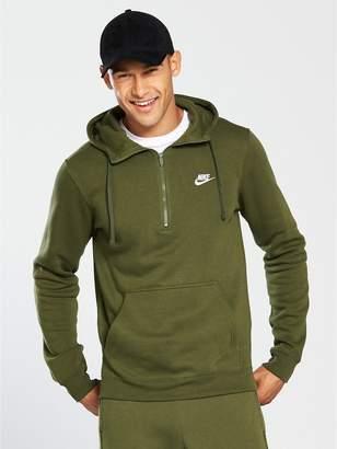 Nike Sportswear Half Zip Club Hoodie