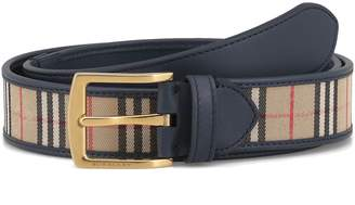 Burberry Gray 35 Belt