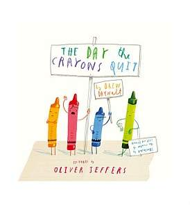 Harper Collins The Day The Crayons Quit