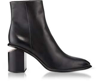 Alexander Wang Anna Black Calf Leather Boots