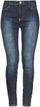 Philipp Plein Denim pants - Item 42720290WO