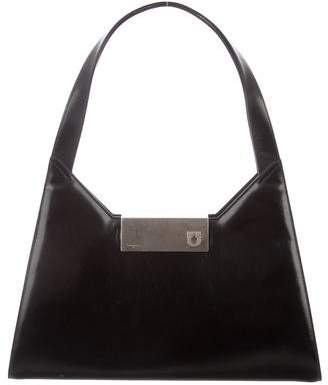 Salvatore Ferragamo Patent Leather Gancini Bag