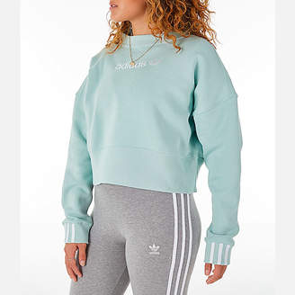 adidas Women's Coeeze Cropped Sweatshirt