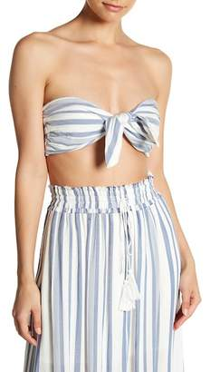 LOST + WANDER Marina Striped Bandeau Top
