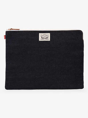 Levi's Denim Zip Tech Pouch