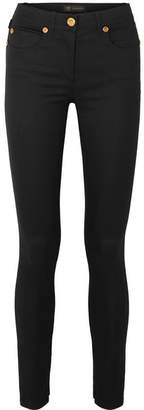 Versace Low-rise Skinny Jeans - Black