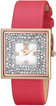 Jivago Women's JV7413 Casual Brillance-S Watch, Mother of Pearl