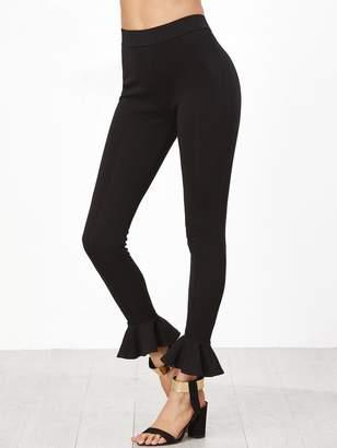 c2ff8597432a9 Shein Black Leggings - ShopStyle