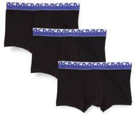 Michael Kors Three-Pack Stretch Boxer Briefs