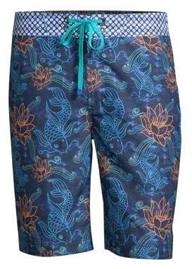 Robert Graham Tamura Oceanic Swim Trunks