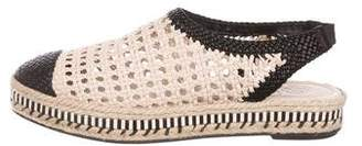 Tory Burch Dandy Leather Espadrilles