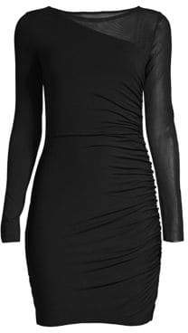 Bailey 44 Better Half Mesh Combo Bodycon Dress