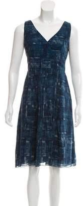 Akris Printed Silk Dress