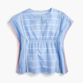 J.Crew Girls' striped beach tunic