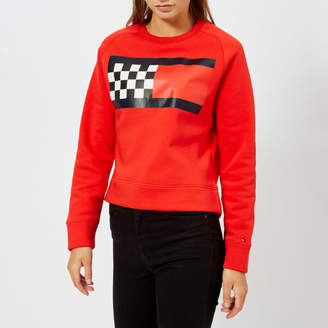 Tommy Hilfiger Women's Bia Crew Neck Pitt Sweatshirt