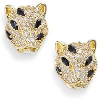 Melinda Maria Baby Jaguar Stud Earrings
