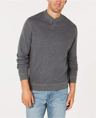 Tommy Bahama Men Flip Side Reversible Classic Pima Cotton Sweater