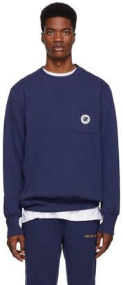 Leon Aime Dore Navy Pocket Sweatshirt