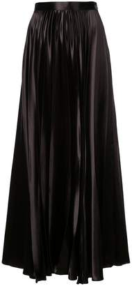 The Row pleated maxi skirt