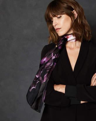 Ted Baker KELLLYY Splendour skinny silk scarf
